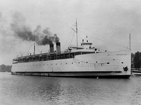 Lake Ontario Steamer Ship